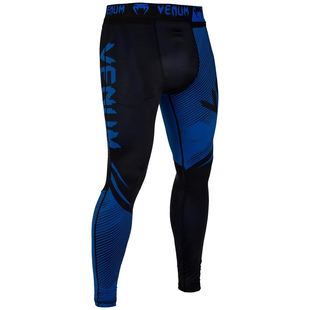 Купить Компрессионные штаны Venum NoGi 2.0 Spats Black/Blue, 6621_bk_bl