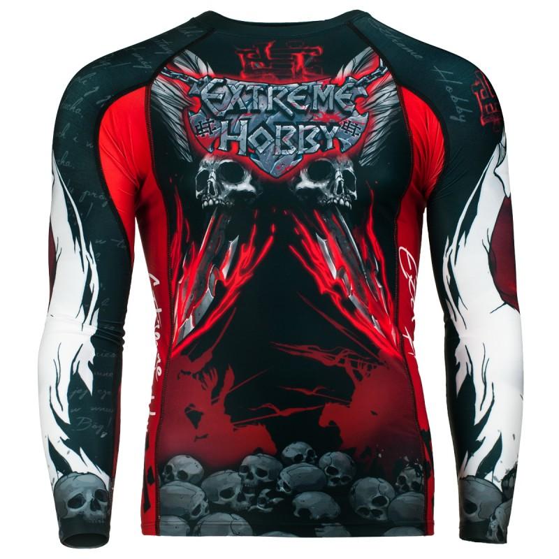 Купить Рашгард Extreme Hobby Husar Long Sleeve - Black/Red, 5893_bk_rd