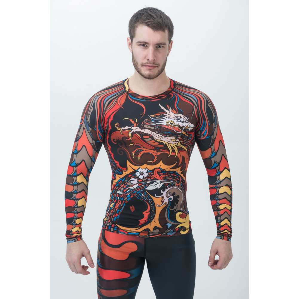 Купить Рашгард Orso Oni Long Sleeve, 6090_rd