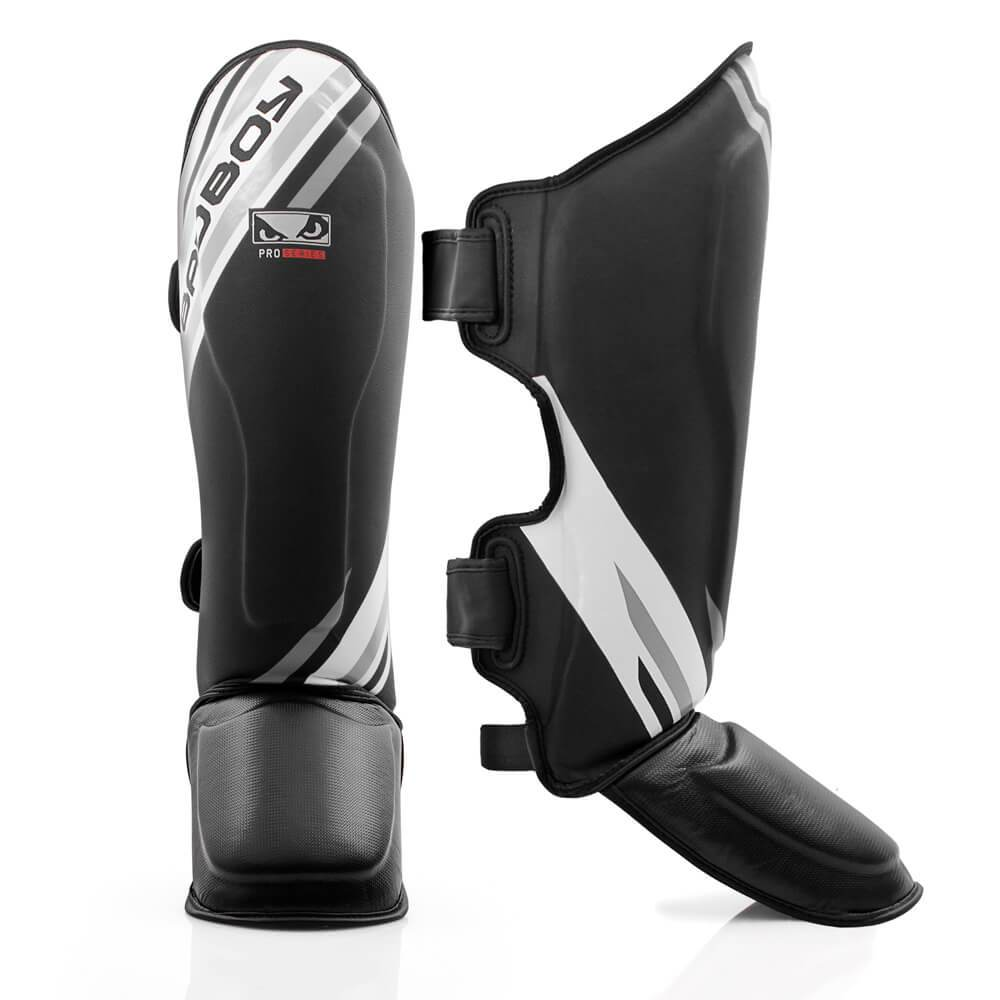 Щитки Bad Boy Pro Series Advanced Thai Shin Guards-Black/White
