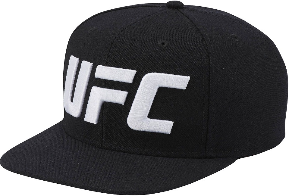 Купить Бейсболка/Кепка UFC/Reebok Black, 5013_bk