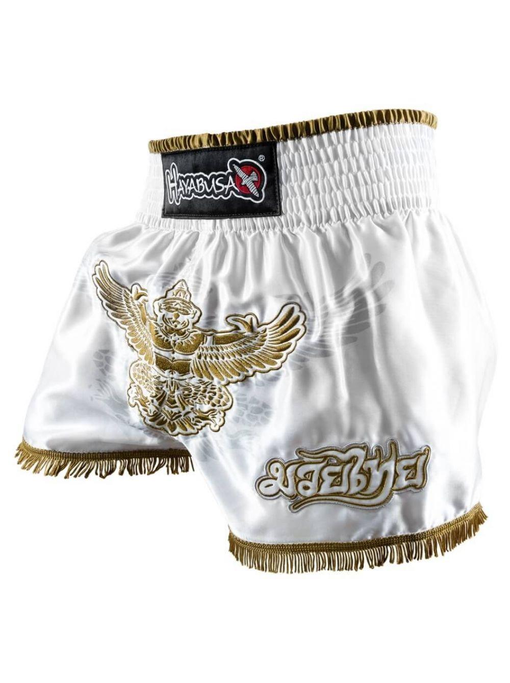 Купить Шорты Hayabusa GARUDA Thai Shorts White, 3232_wh