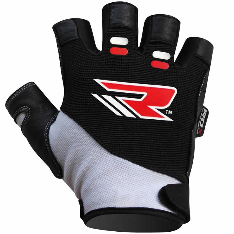 Купить Перчатки для пауэрлифтинга RDX S3 Hector Уценка (XL), 5755_bk