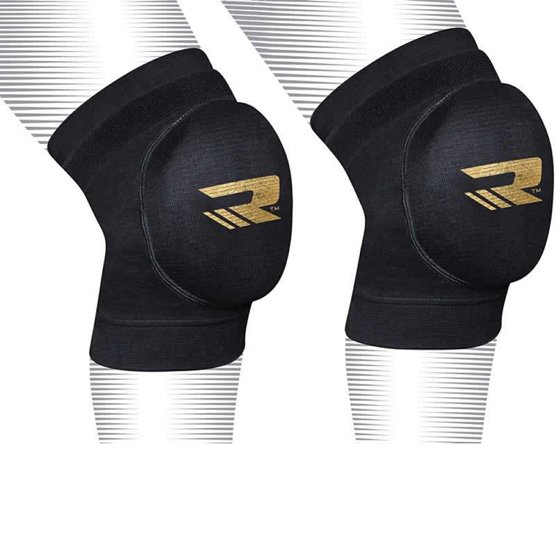 Купить Наколенники RDX Knee Pads Brace Support Protection Black/Gold, 4173_bk