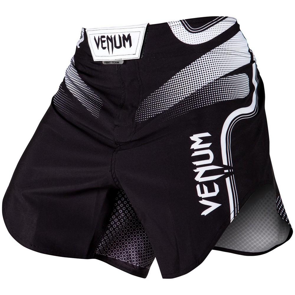 Купить Шорты Venum Tempest 2.0 Fightshorts Black/White, 4546_bk