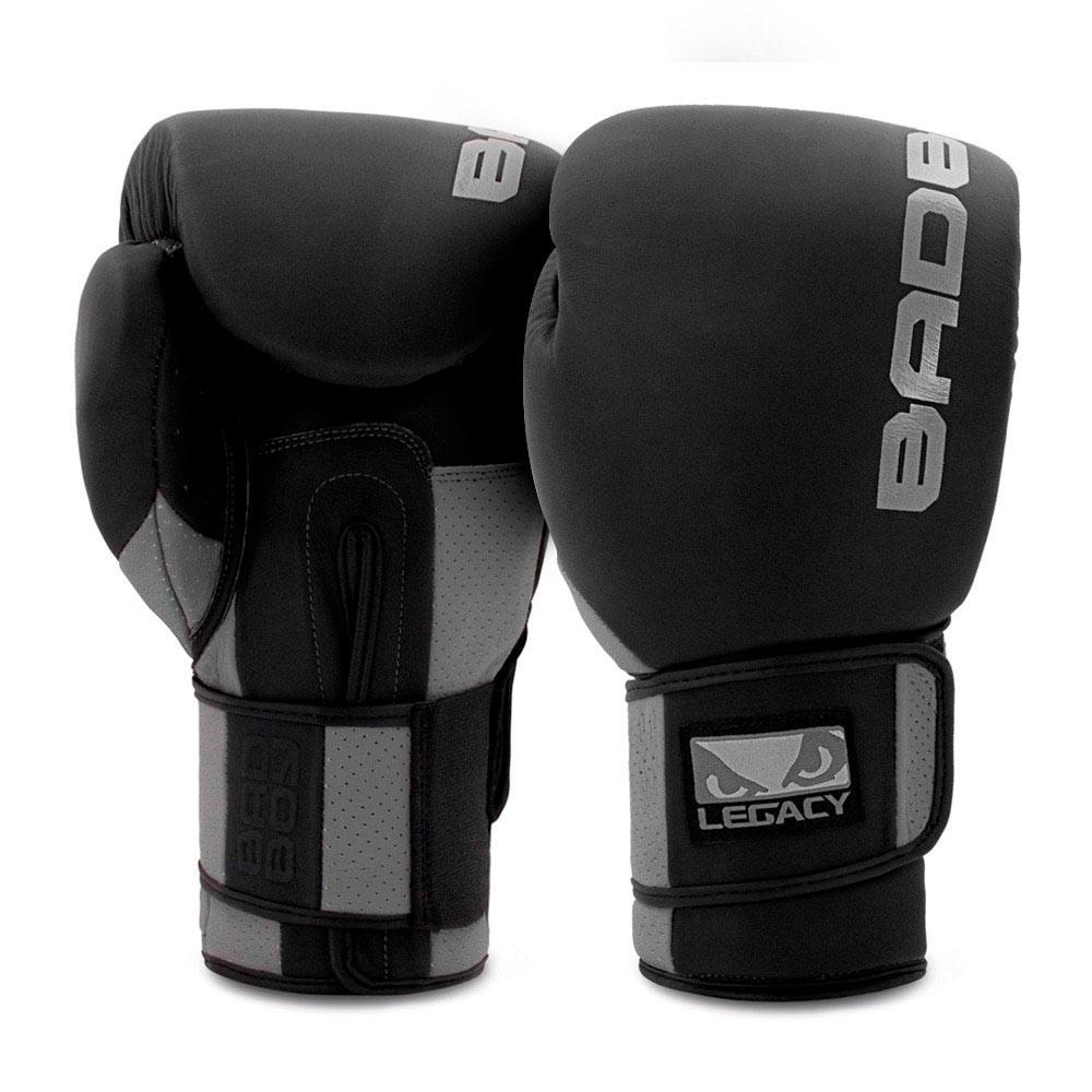 Купить Перчатки для бокса Bad Boy Legacy Prime Black/Grey Уценка (12), 5683_bk_gy