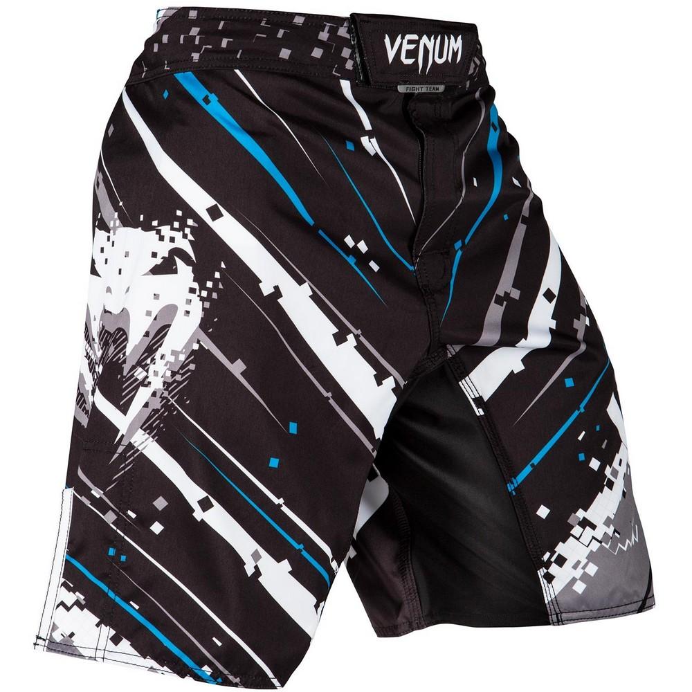 Купить Шорты Venum Pixel Fightshorts Black/Grey, 4528_bk_gy