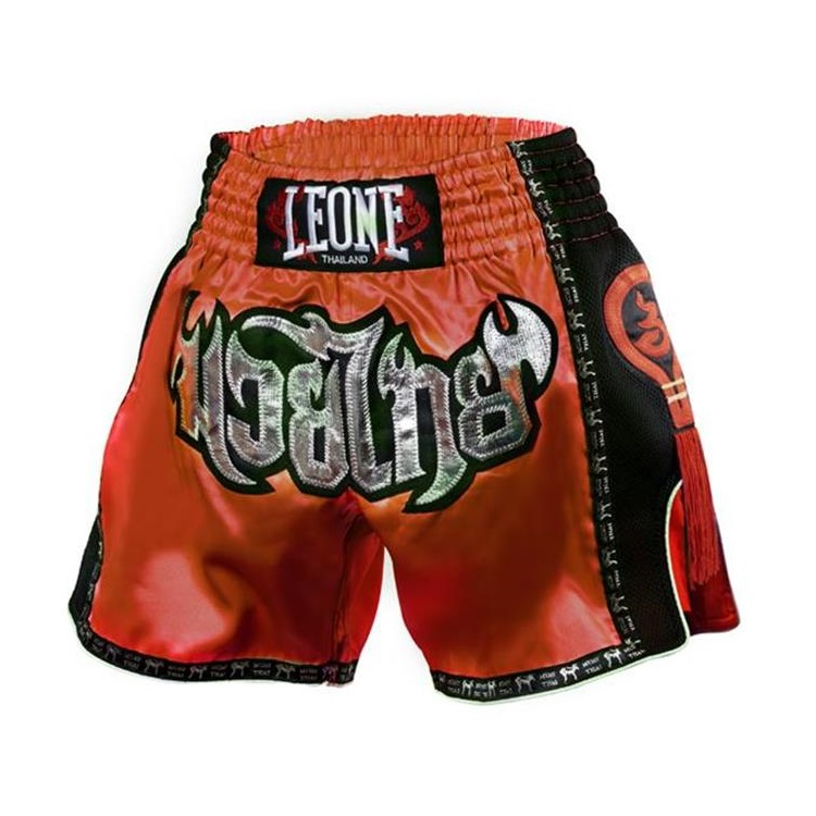 Купить Шорты Leone 1947 Bangkok Thai Shorts Red, 4899_rd_sl