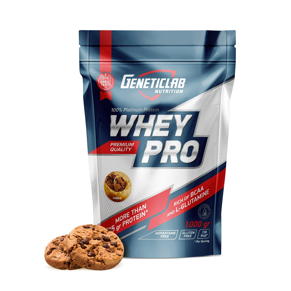 Купить Протеин Geneticlab Whey Pro 1000gr/30serv Cookie, 5730_cok