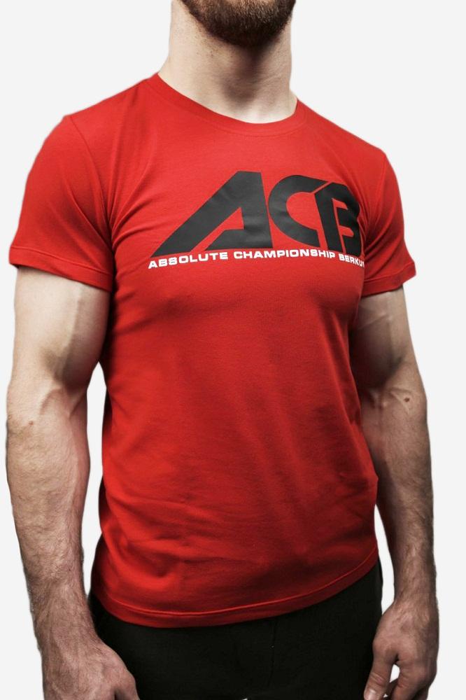 Купить Футболка Iamfighter ACB T-shirt - Red, 5720_rd