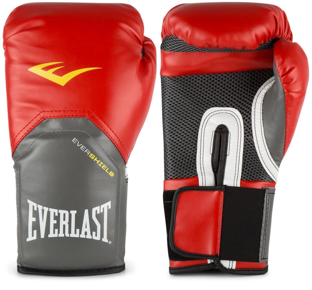 Купить Перчатки для бокса Everlast Pro Style Elite Red, 5846_rd_gy