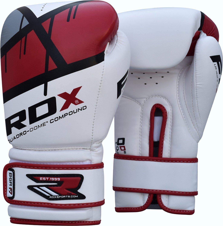 Купить Перчатки для бокса RDX Boxing Glove BGR-F7 Red , 4158_wh_rd