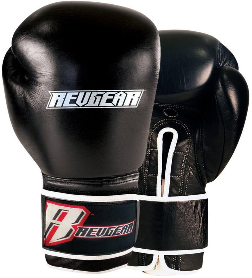 Купить Перчатки для бокса Revgear Platinum Black, 6637_bk