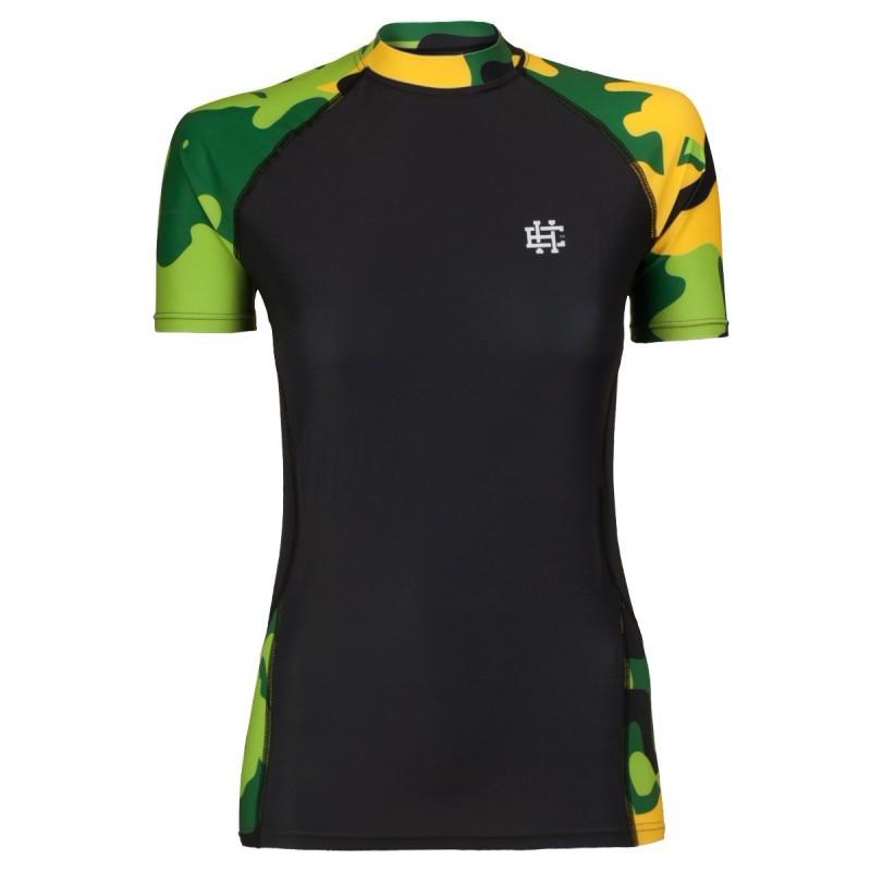 Купить Рашгард женский Extreme Hobby Workout Green, 5881_bk_cm