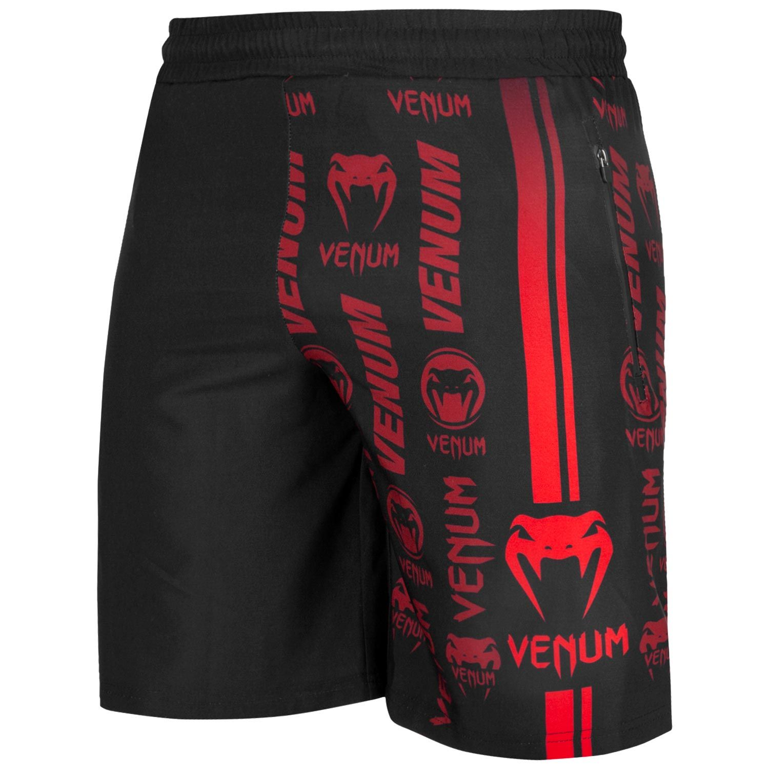 Шорты Venum Logos Training Shorts Black/Red