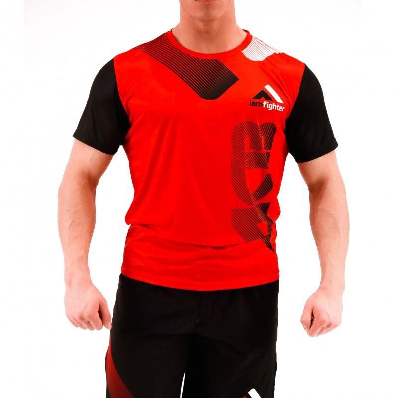 Купить Футболка Iamfighter T-shirt - Red, 5716_rd