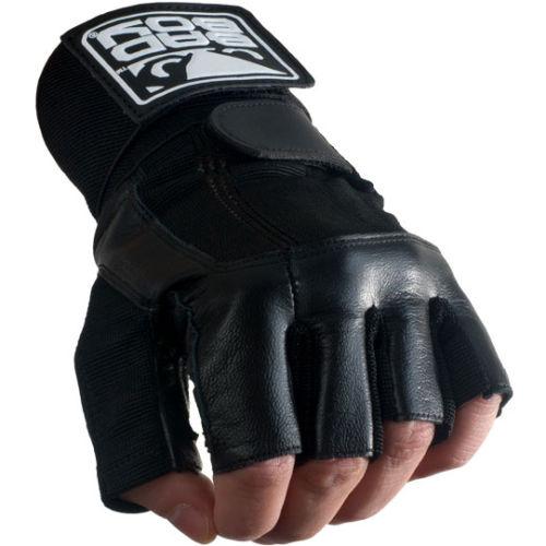Купить Перчатки для пауэрлифтинга Bad Boy Уценка (L), 5602_bk