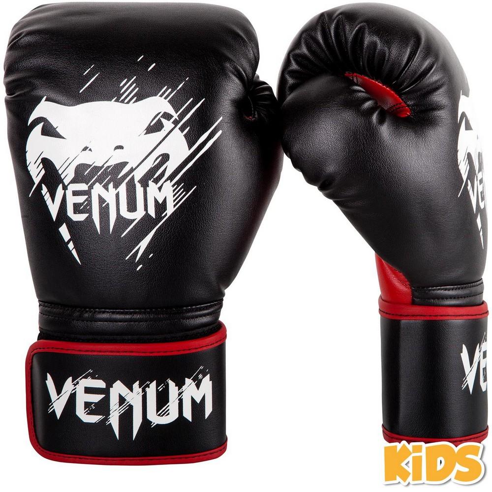 Купить Детские перчатки Venum Contender Kids Boxing Gloves Black/Red , 4518_bk_rd