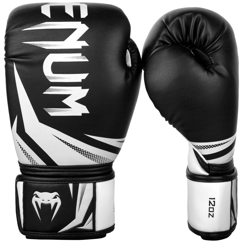 Купить Перчатки для бокса Venum Challenger 3.0 Boxing Gloves-Black/White, 6048_bk_wh
