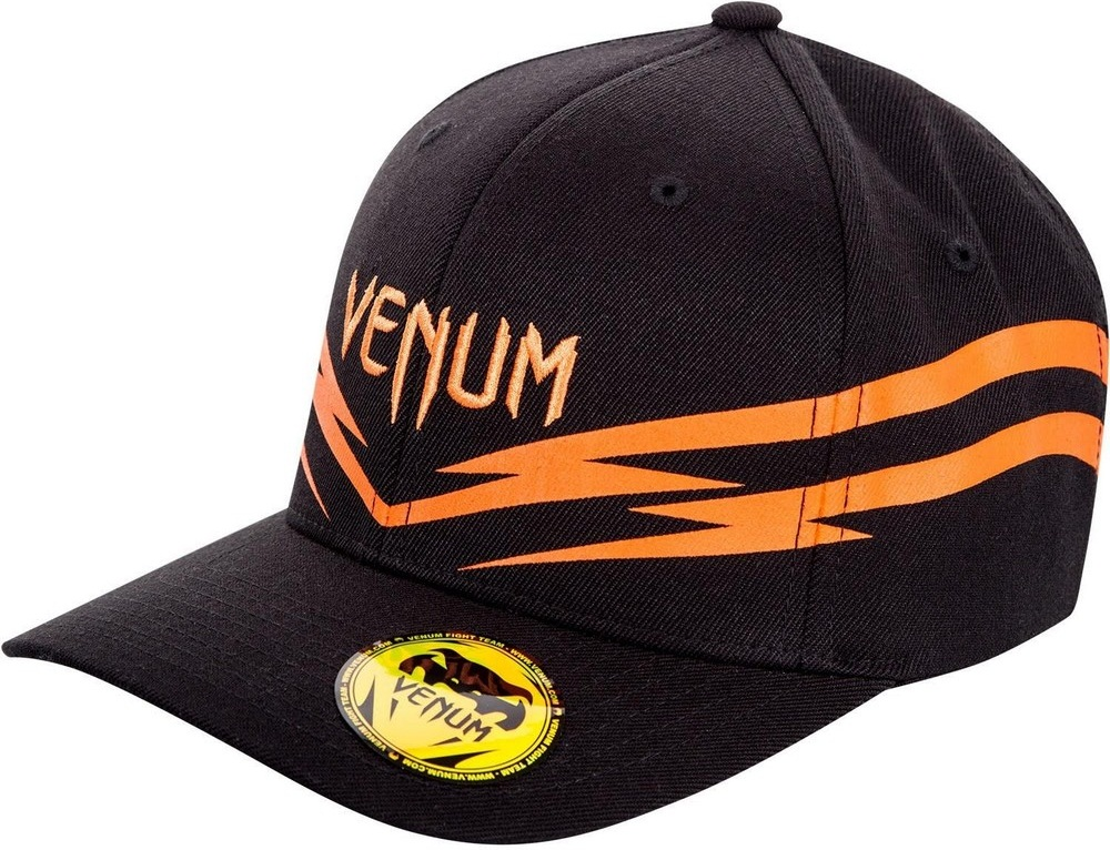 Купить Бейсболка/Кепка Venum Sharp 2.0 Cap Black/Orange&, 3538_bk_or