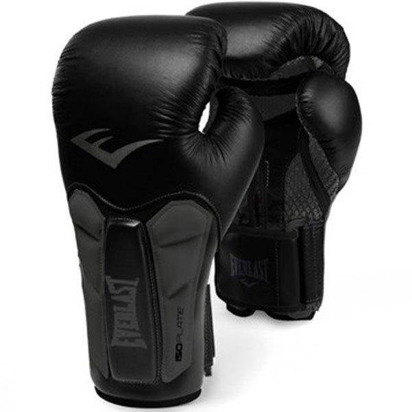 Купить Перчатки боксерские Everlast Prime Leather Black/Grey, 6181_bk_gy