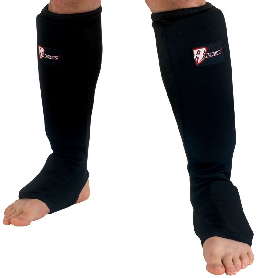 Купить Щитки Revgear Cloth Shin And Instep Pad Black, 6645_bk