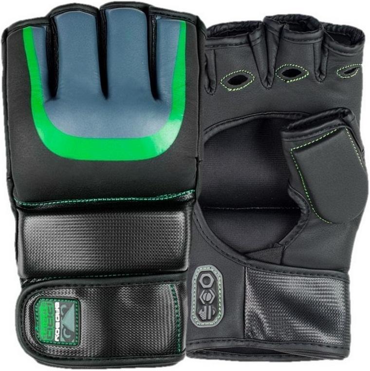 Купить Перчатки для ММА Bad Boy Pro Series 3.0 MMA Gloves - Green, 6164_bk_gr