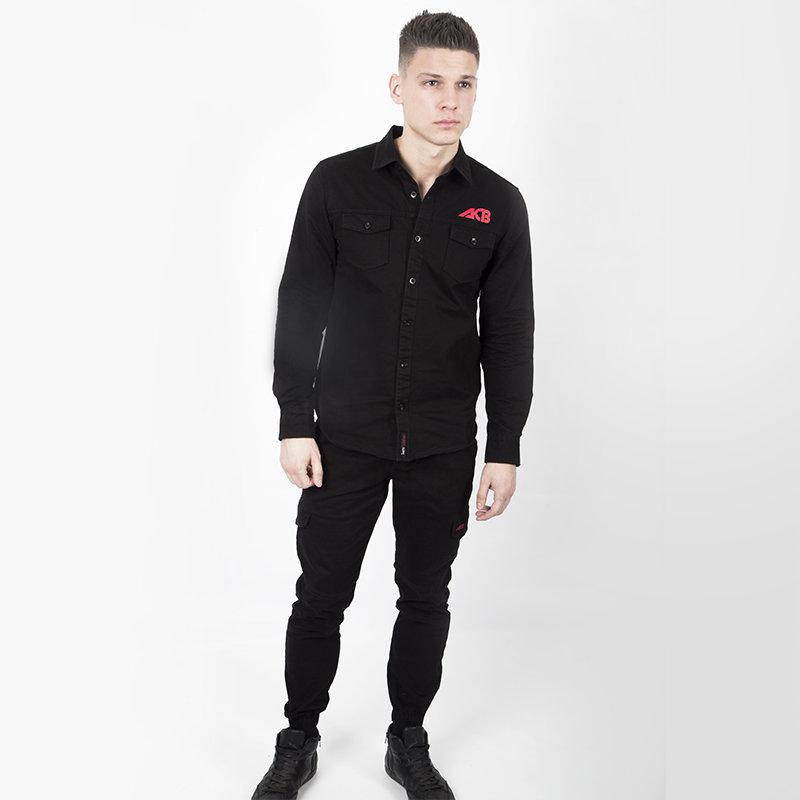 Купить Рубашка Iamfighter Denim ACB Black, 6316_bk