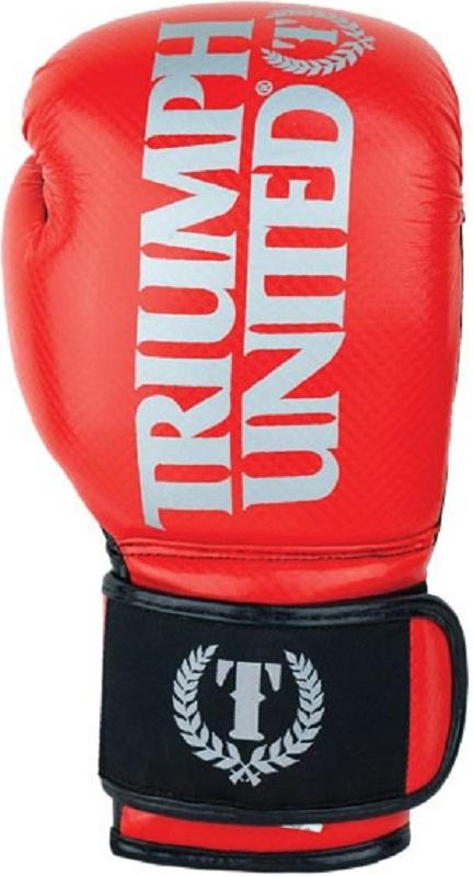 Купить Перчатки боксерские Triumph United TBC Glove Red, 6653_rd