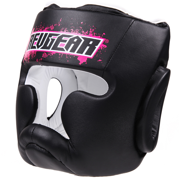 Купить Шлем для детей Revgear Kids Boxing Head Guard Pink, 6003_bk_pk