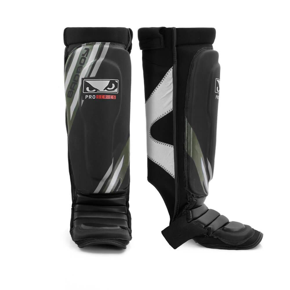Купить Щитки Bad Boy Pro Series Advanced MMA Shin Guards-Black/Green, 5665_bk_gr