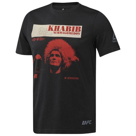 Купить Футболка UFC/Reebok Khabib Retro Black, 5431_bk