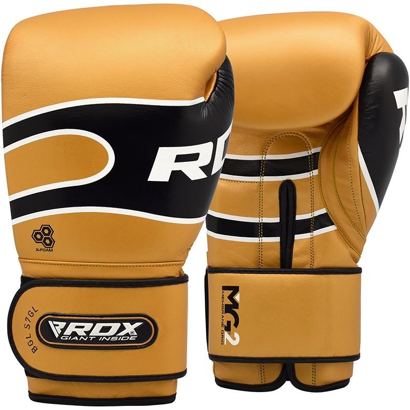 Купить Перчатки для бокса RDX Boxing Gloves Pro S7 Brown, 6011_br