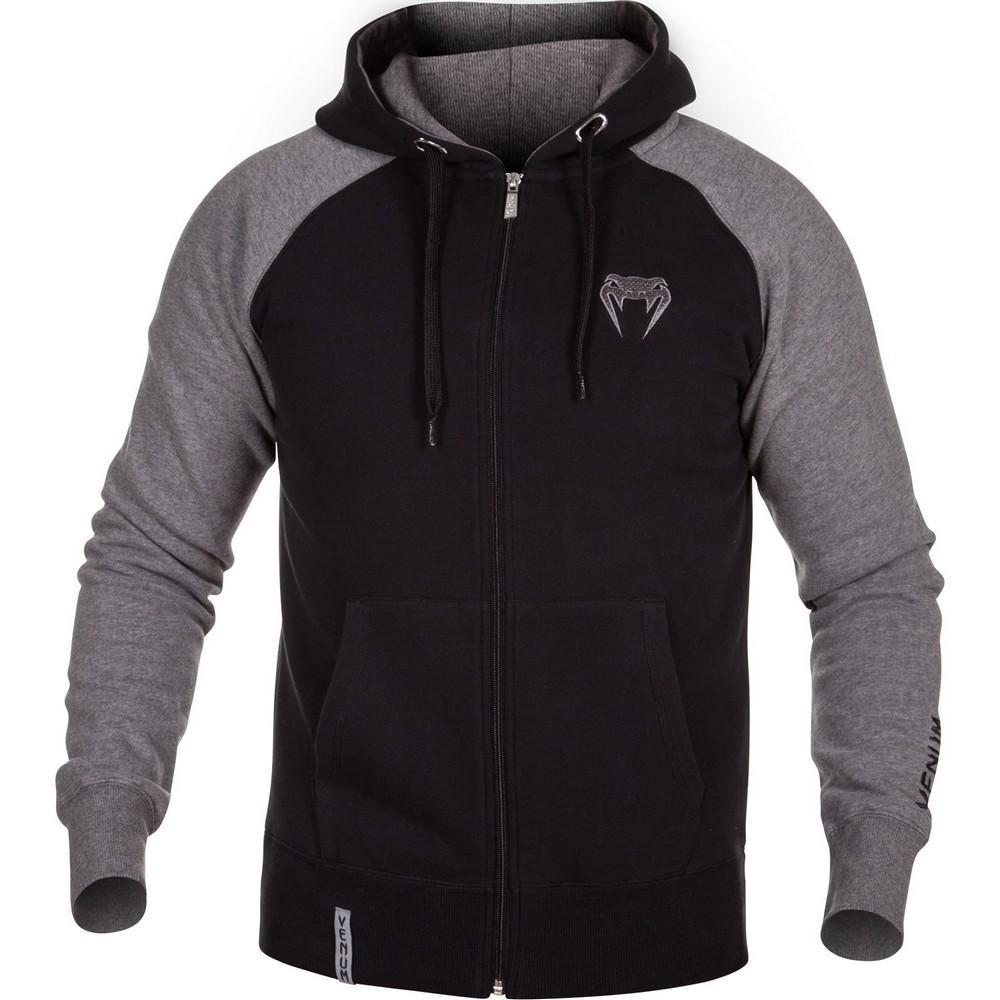 Купить Толстовка Venum Contender Hoody Black/Grey, 3888_bk_gy