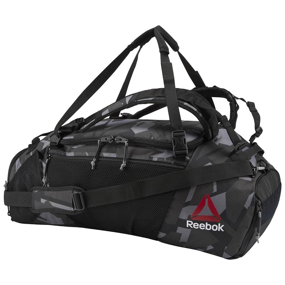 Купить Сумка-рюкзак UFC/Reebok Black, 5012_bk_gy