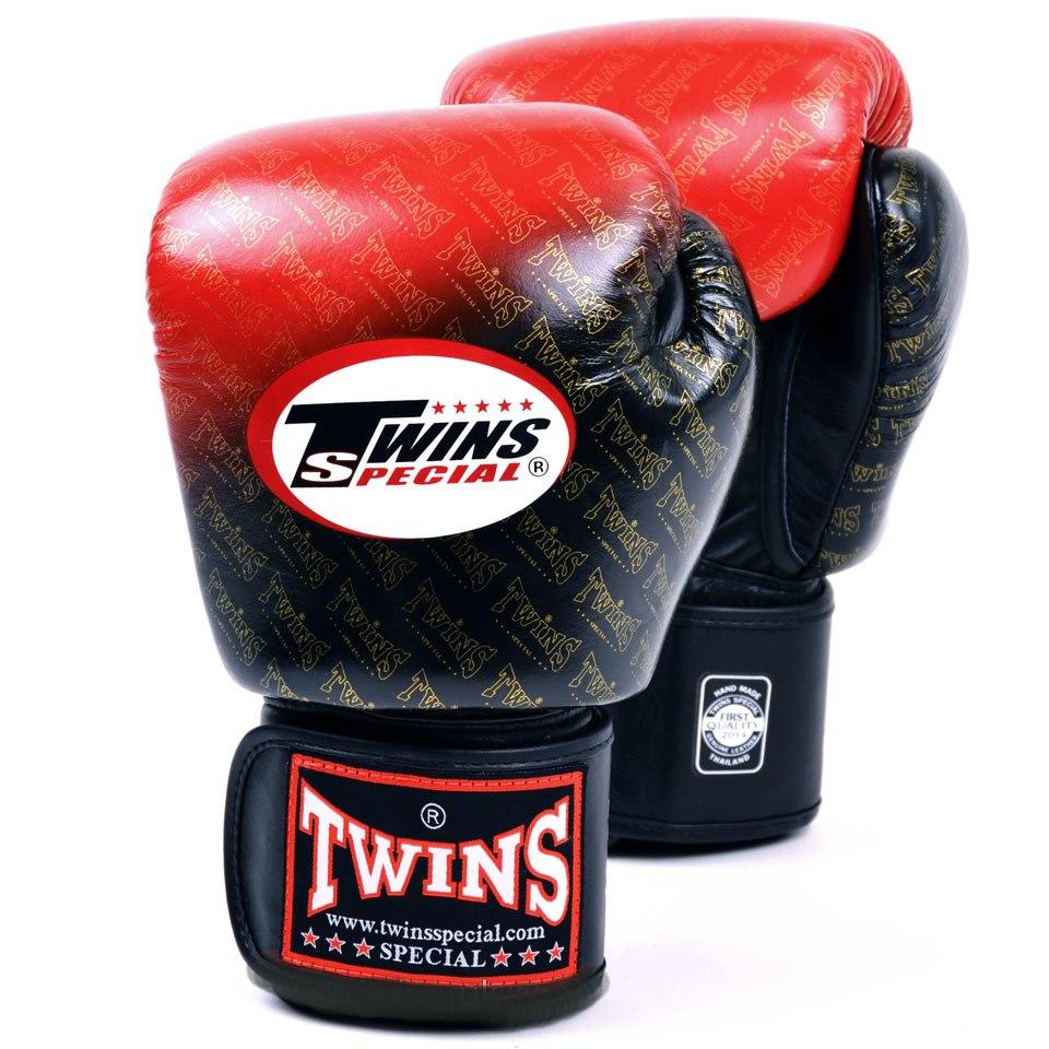 Купить Перчатки для бокса Twins Special TW-1 (Red), 3701_rd_bk