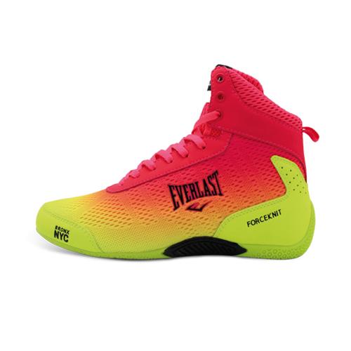 Купить Боксерки женские Everlast Forceknit Yellow/Pink, 5856_yl_pk