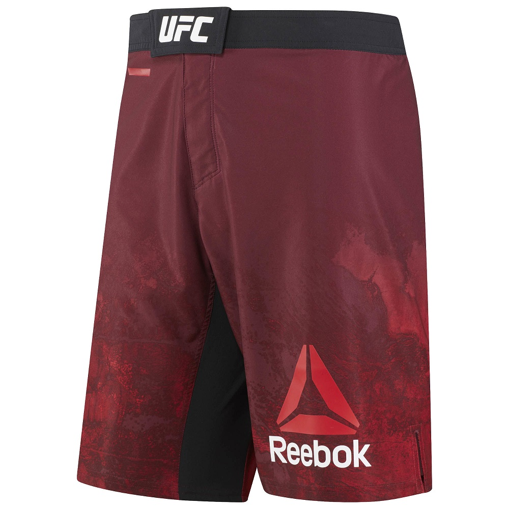 Купить Шорты UFC/Reebok Fight Night Blank Octagon Red Уценка (XL), 6687_rd
