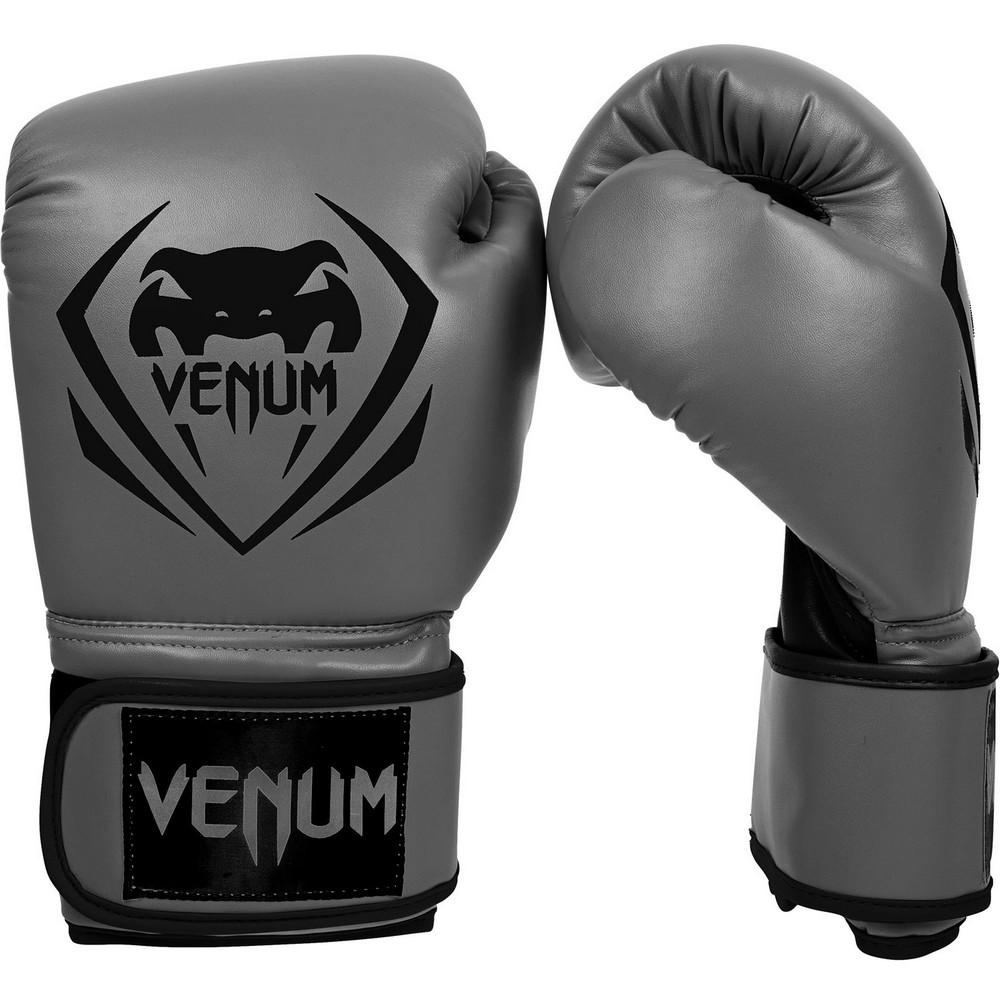 Купить Перчатки для бокса Venum Contender Boxing Gloves - Grey, 3141_gy