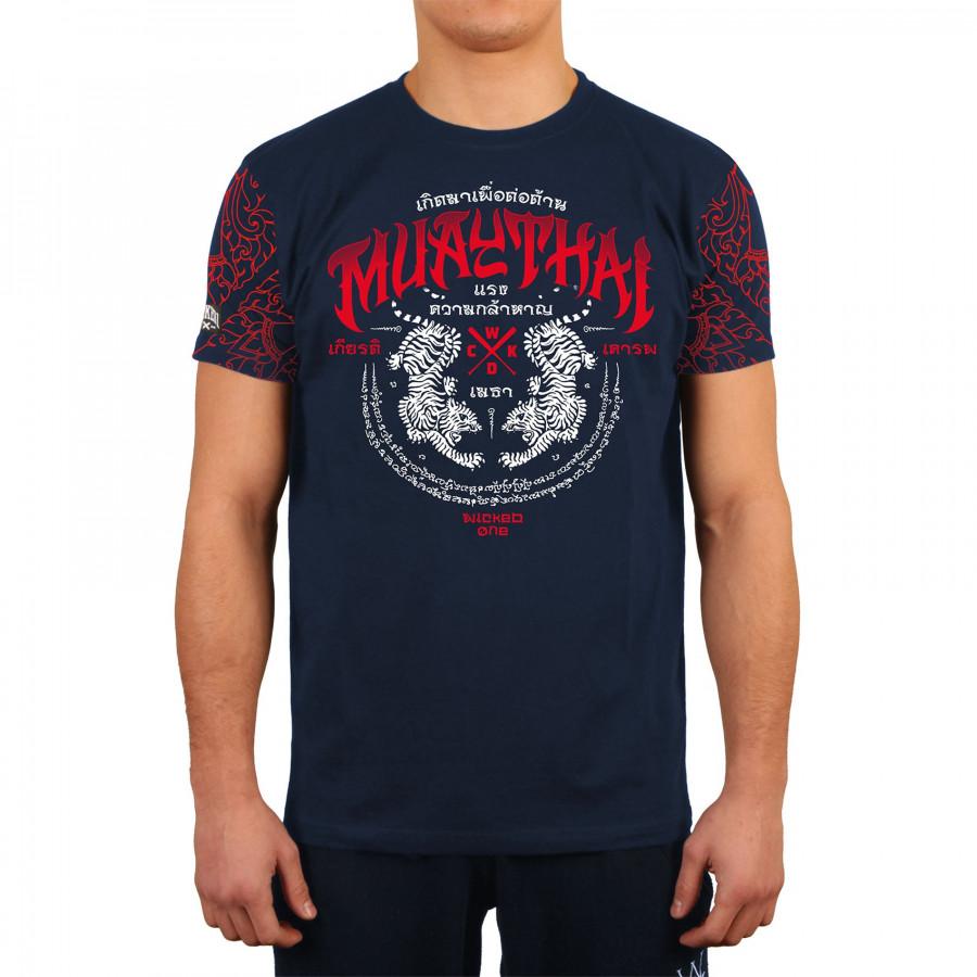 Купить Футболка Wicked One Muay Thai Navy, 6108_bl