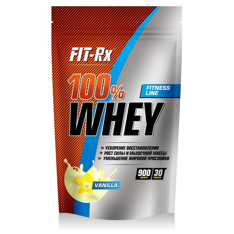 Купить Протеин Fit-Rx 100% Whey 900г Vanila, 5616_van
