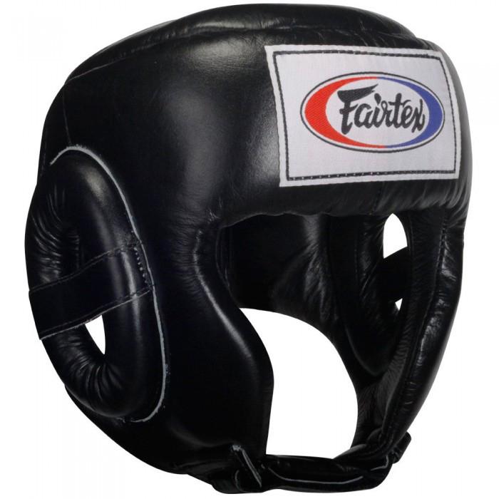 Купить Шлем Fairtex Headguard HG6 Black&, 5046_bk