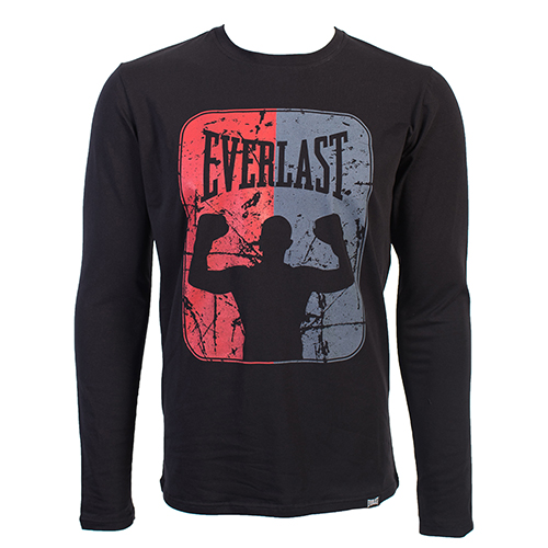 Купить Футболка Everlast Boxer Long Sleeves Black, 5897_bk
