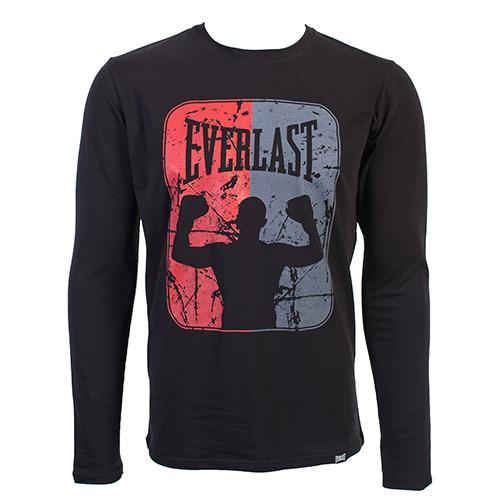 Купить Футболка Everlast Boxer Long Sleeves Black, 5897_bk