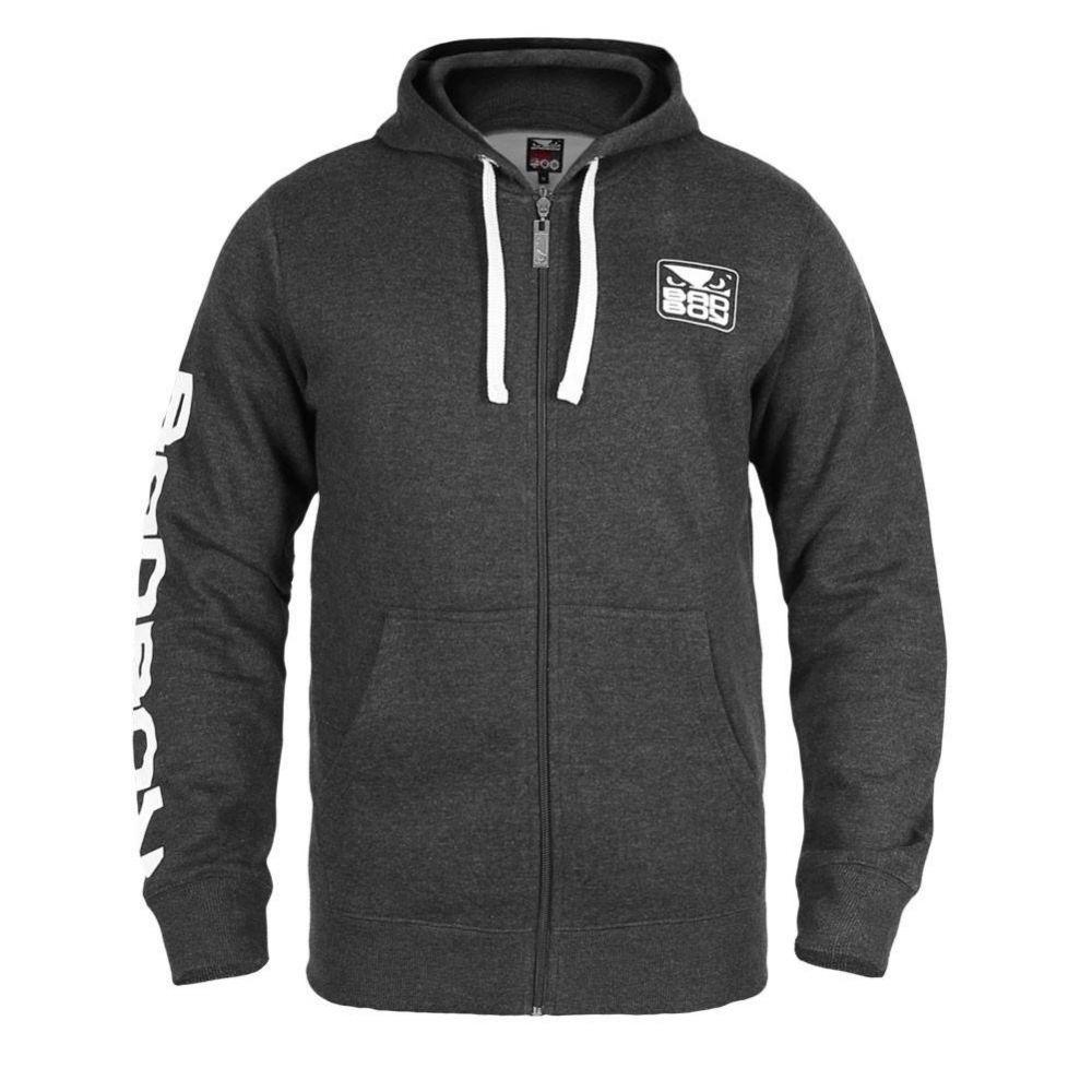 Купить Толстовка Bad Boy Core Hoodie -Black/Grey&, 4271_bk_gy