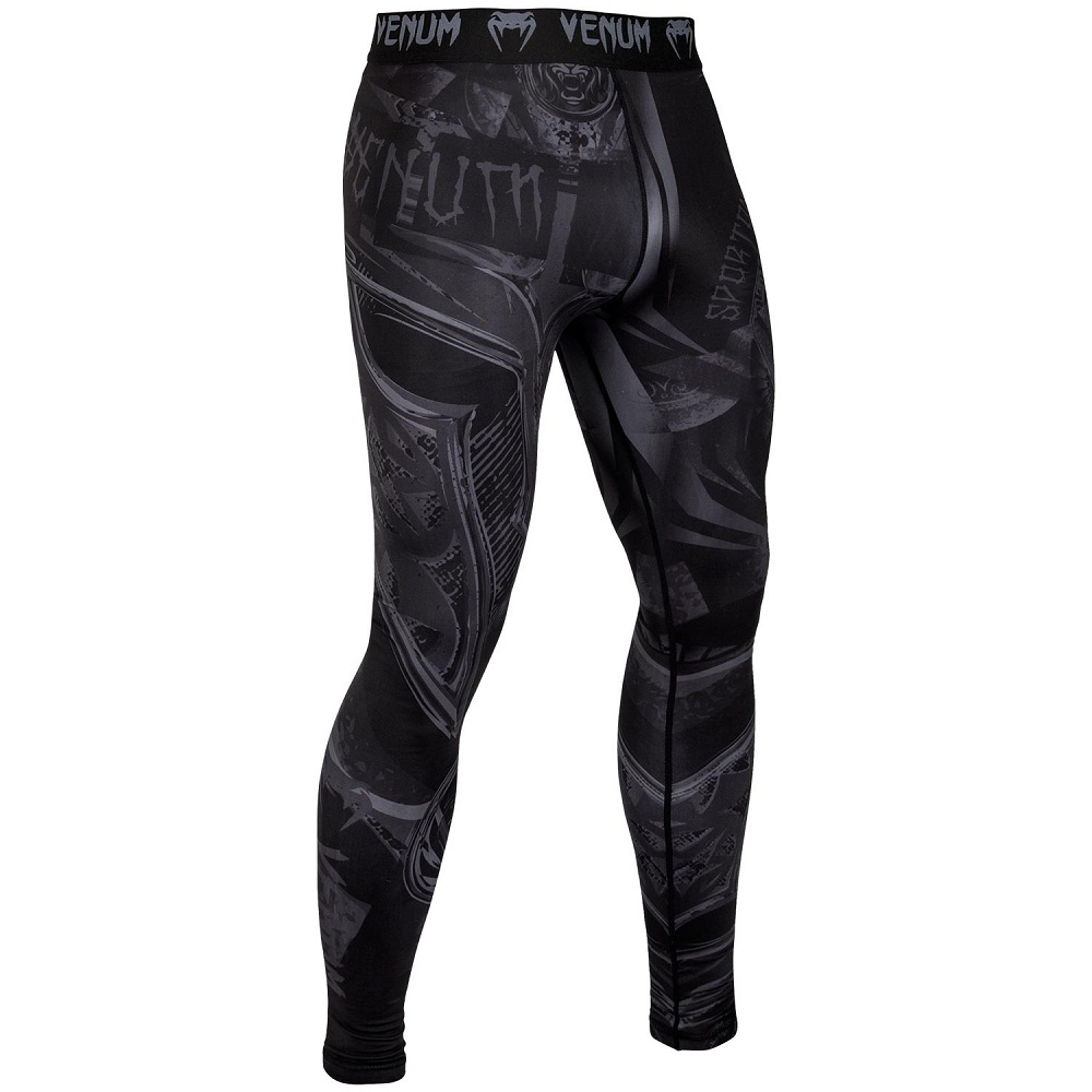 Купить Компрессионные штаны Venum Gladiator 3.0 Spats Black/Black, 6627_bk_bk