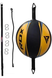 Груша RDX Leather Double End Dodge Speed Ball Yellow