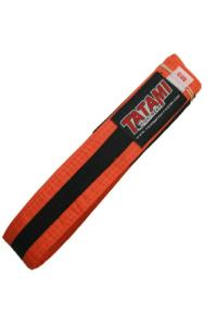 Пояс детский Tatami IBJJF Kids Rank Belts Orange/Black &