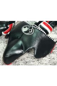 Бандаж Grant Pro Groin Guard Leather Black/Red