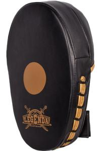 Лапы Legenda Focus Mitts Black/Yellow 1 пара